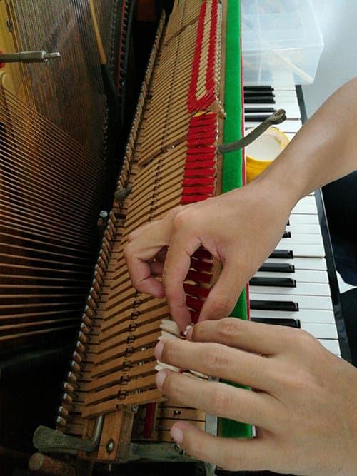 Castellón Pianos - Ajuste y Regulación de Voces