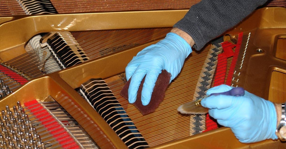 Castellón Pianos - Limpieza de Pianos