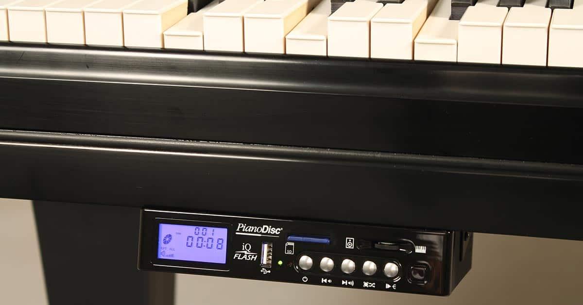Castellón Pianos - Sistema Pianodisc iQ Flash