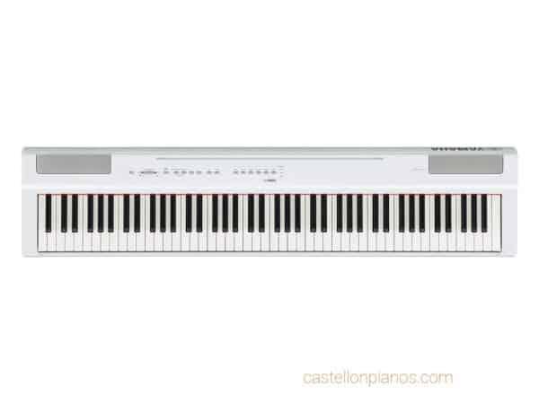 Piano digital Yamaha P125 B blanco