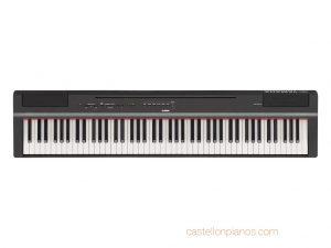 Piano digital Yamaha P125 B negro