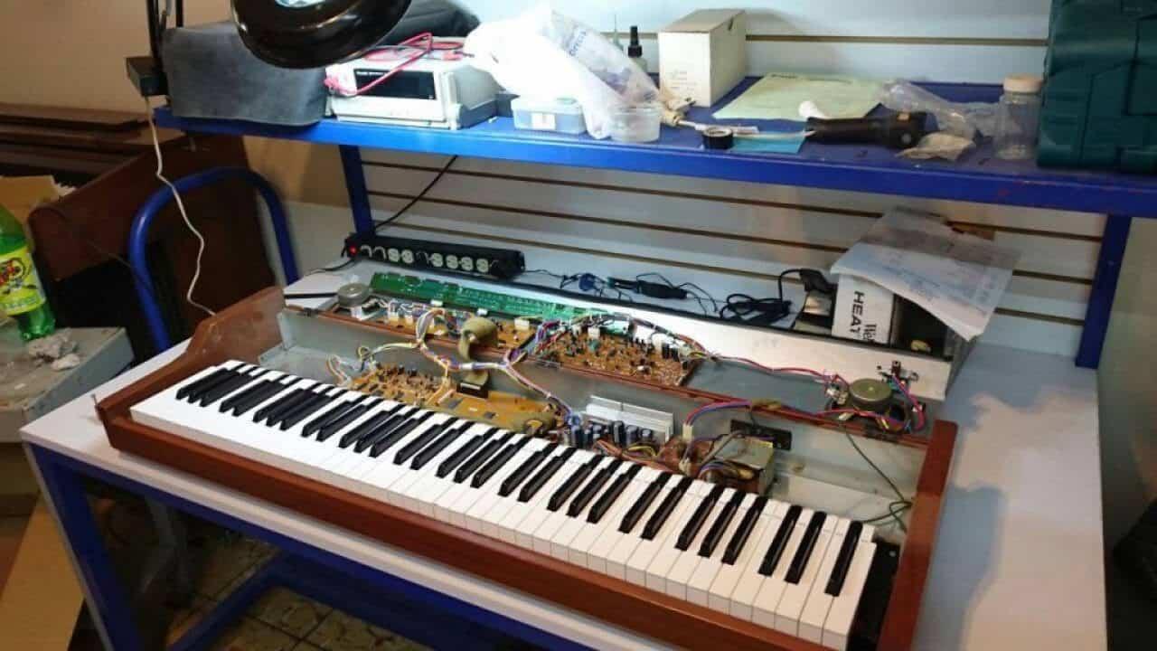 Arreglo de Pianos digitales en centro de servicio en Castellon Pianos