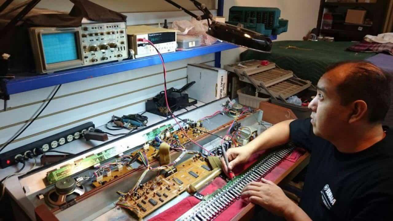 Arreglo de teclados, pianos digitales en Castellon Pianos