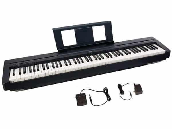 Piano Digital Portátil Yamaha P45B (2)