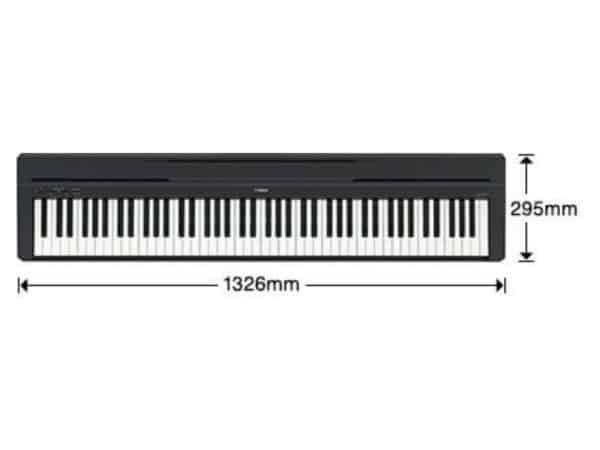Piano Digital Portátil Yamaha P45B (5)