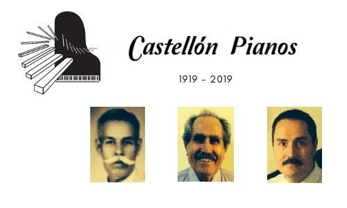 Castellón Pianos, 3 Generaciones - 100 Años