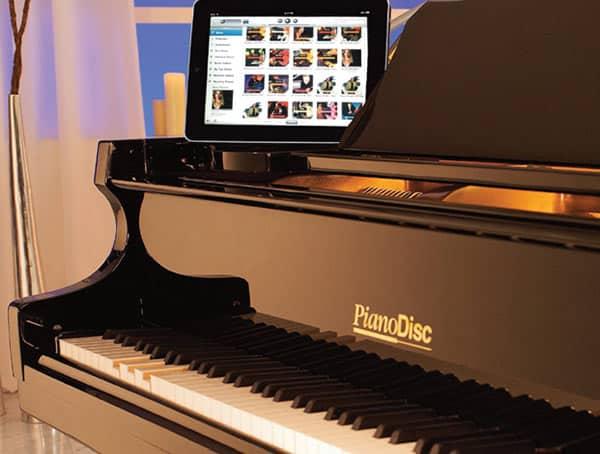 Sistema Pianodisc en Piano de Cola
