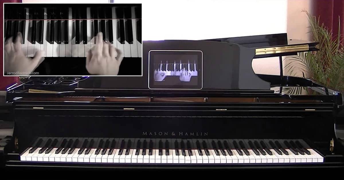 Reproducción con el sistema Pianodisc - Harry Potter - Jarrod Radnich