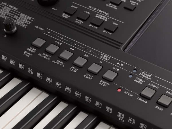 Teclado Yamaha PSR EW410 (7)