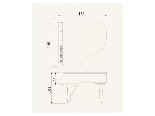 Piano de Cola Yamaha CX1 PE (3)